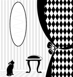 background fantasy home vector image