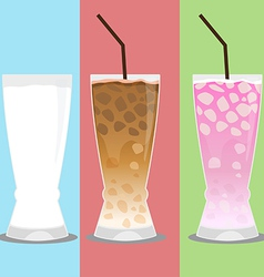 cold drink vector image