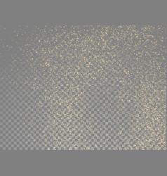 golden glitter abstract gold star dust vector image
