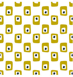 simple vintage abstract seamless pattern vector image