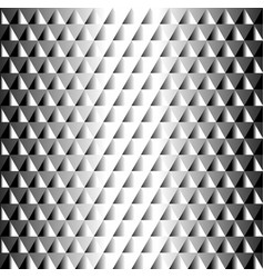 geometric black and white tiled pattern triangles vector image vector image