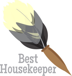 Best housekeeper vector