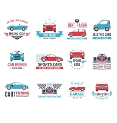 Car Logo Set vector image