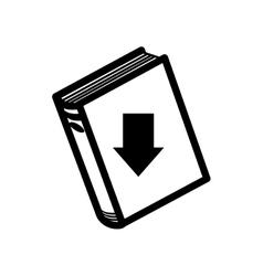 electronic ebook icon vector image
