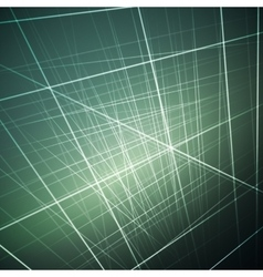 Glowing lines abstract vector