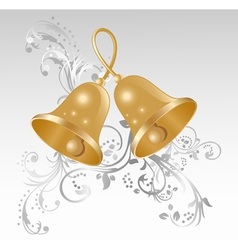 Golden bells vector