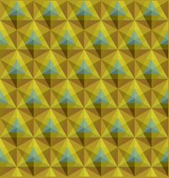 triangular geometric seamless pattern vector image vector image
