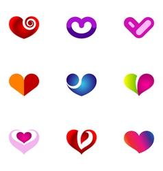 logo design elements set 54 vector image vector image