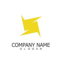 letter s company logo vector image