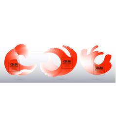 color design element vector image