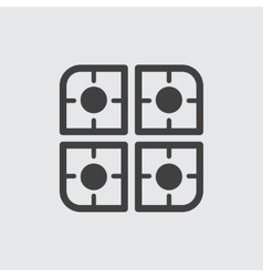 Cooker icon vector image