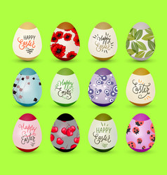 easter realistic egg vector image
