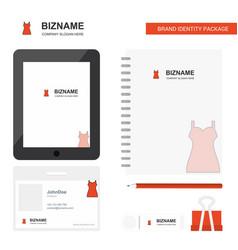 girls skirt business logo tab app diary pvc vector image