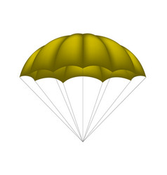 Parachute in brown design vector