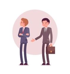 Rejection of handshake vector
