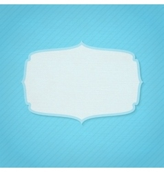 Retro frame with texture vector image vector image