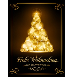 Christmas card Weihnachtskarte vector image vector image