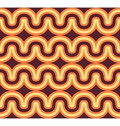 geometric wave background vector image
