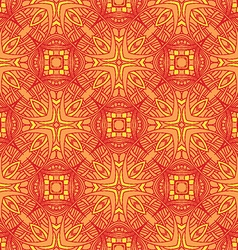 Decorative vintage pattern vector image