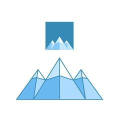 Mountain vector image