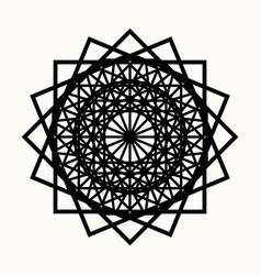 Sacred geometry 0084 vector