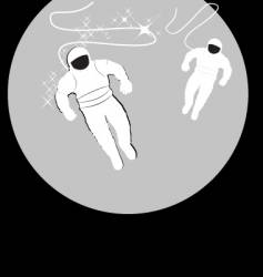 spaceman vector image