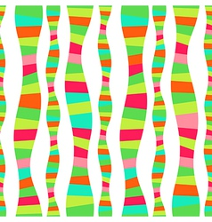 Wavy stripes mosaic seamless abstract wave vector