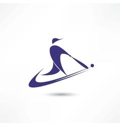 Amerikan futtbol vector image