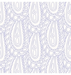 Hand drawn seamless pattern in pastel color vector image vector image