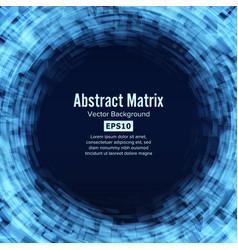 sci-fi abstract matrix futuristic technology vector image vector image