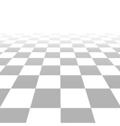 Floor with tiles perspective grid vector image
