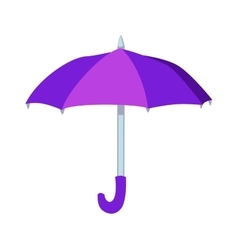 Umbrella isolated icon vector image vector image