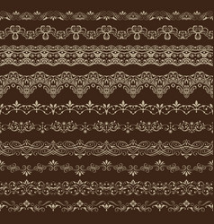 vintage seamless ornament vector image vector image