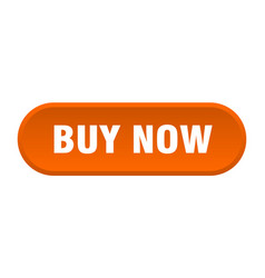 Buy now button buy now rounded orange sign buy now vector