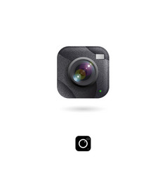 camera lens photo equipment digital vector image