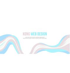 Header website abstract modern design vector