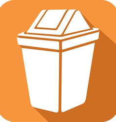 Recycle Bin Icon vector image