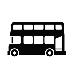 London bus vector image vector image