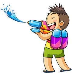kids water vector image