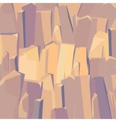 Cartoon stone texture vector image