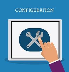 Configuration design vector