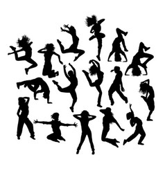 fun hip hop expression vector image