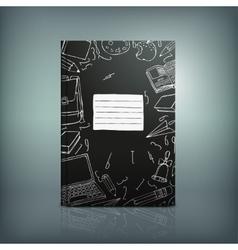 School Test Book 04 B vector