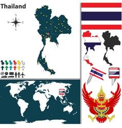 Thailand world vector