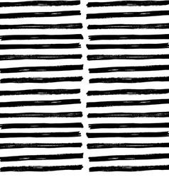 Hand drawn brush strockes seamless pattern vector image vector image