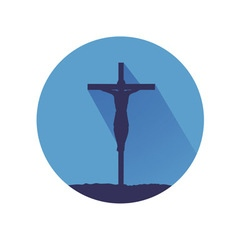 Jesus symbol vector image