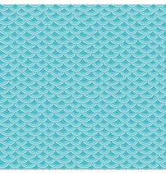 Marine fish scales simple seamless pattern vector image
