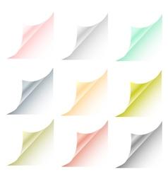 Blank sheet vector image