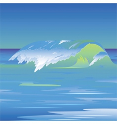 waves vector image