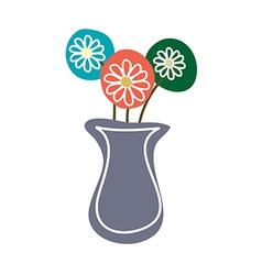 A flower pot vector